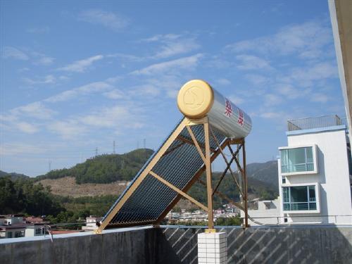太阳能热水器安装图与安装要求