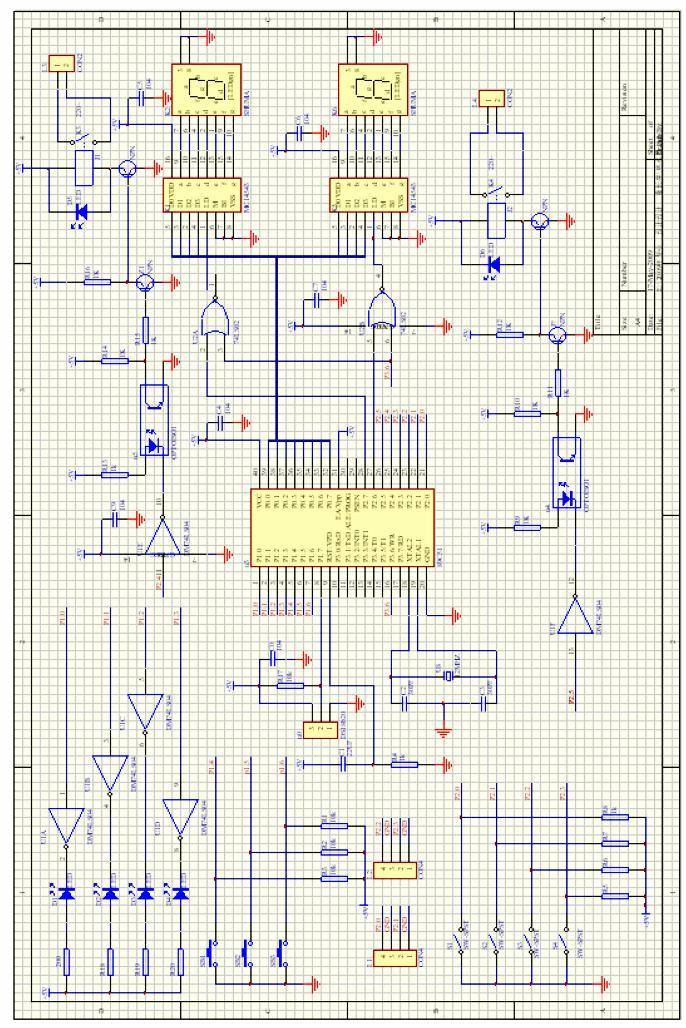 太阳能热水器控制器电路图及安装施工