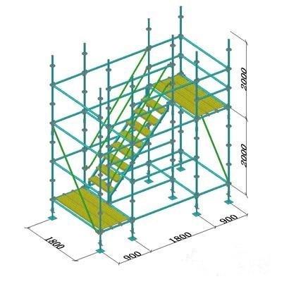 盘扣式脚手架搭设规范步骤,要求注意事项及施工人员规范