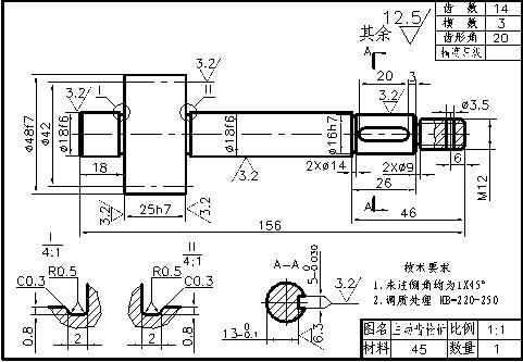 齿轮油泵装配图详解,工作原理及保养方法图片