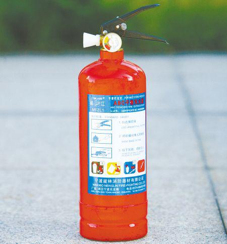 怎样使用干粉灭火器?干粉灭火器的报废年限及适用范围