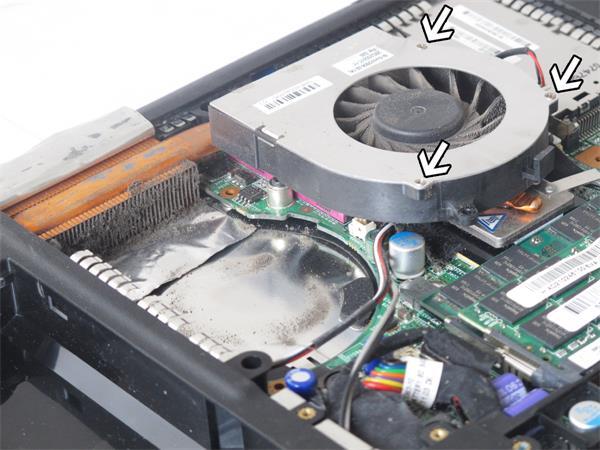笔记本散热风扇价格,拆解方法及清洁方式