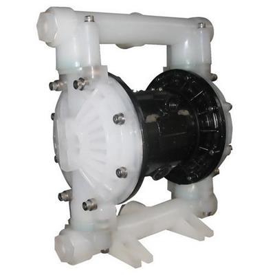 塑料气动隔膜泵结构图、安装尺寸及主要用途